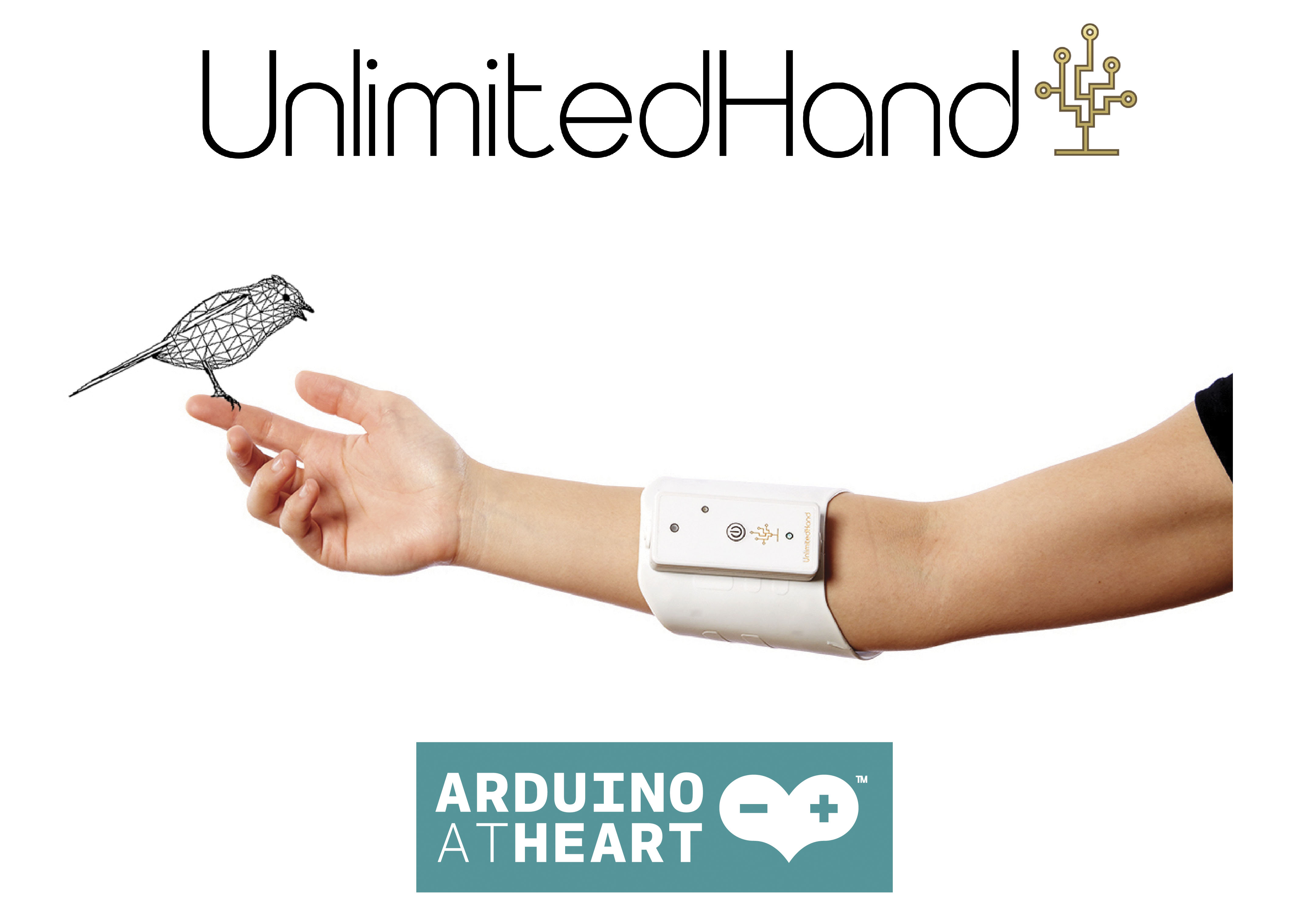UnlimitedHand joins Arduino atHeart!