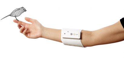 [PRESS RELEASE]H2L and NTT develops new haptic interface with functional material hitoe®